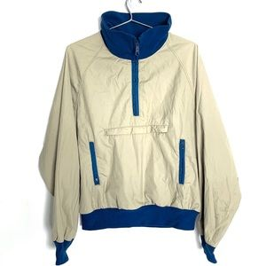 🔥VTG Woolrich Anorak Jacket Men's L Mock neck